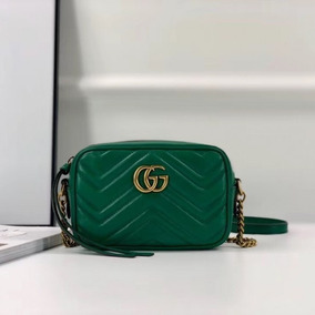 Bolsa Gucci Marmont Mini 18cm - Importada