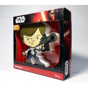 Han Solo Mini Lampara De Pared 3d Led Star Wars