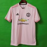 Camisa Manchester United Rosa 18 19 ( Pronta Entrega ) Video 485094e8def53