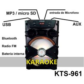 Corneta Portatil Karaoke Una Belleza Excelente Sonido