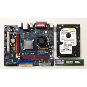 Kit Placa Mãe Pos-vvcn896bd Com Processador + 2gb + Brinde