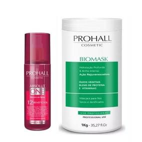 Biomask Prohall 1 Kilo + Spray Prohall Absolut One 200ml