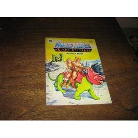 He-man Mestres Do Universo Livro De Atividade Intacto Ebal