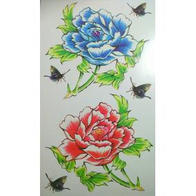 Tatuajes Temporales Tattoos 5 Laminas / Block Nro. 22