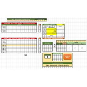 Planilha Lotofacil 6 Fixa 14 Dos Jogo Anterios