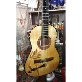 Guitarra Concierto Maderas Macizas Tapa Pino Abeto Aleman