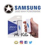 Cargador Portatil-power Bank Samsung 2600 Mah