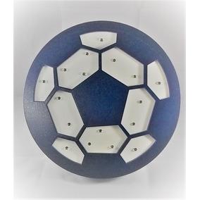 Nova Luminária Bola De Futebol 3d Deco Light Fx Beek. Minas Gerais · Bola  Luminoso Futebol Decoração Azul Madeira Mdf Luminária c2f3bcc14c698