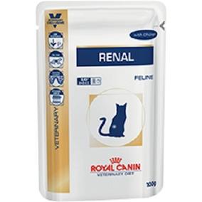 Renal Sache Gatos Royal Canin - 12 Unidades