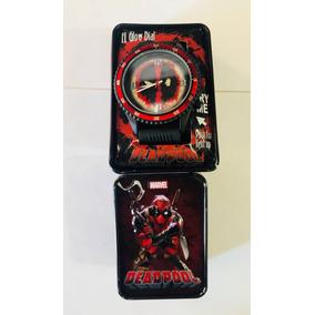 Reloj Deadpool Correa De Silicon Nuevo
