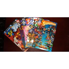 Dc Renascimento - Superman Vols 17 Ao 22