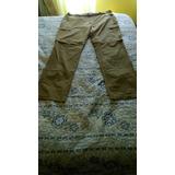 Pantalones Desmontables Lippi, Talla 50, Gris Oscuro Y Verde