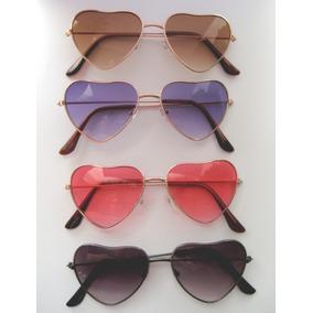 64795923e9788 Óculos Infantil Juvenil De Coração Proteção Uv 400 + Case. 3 cores. R  29 90