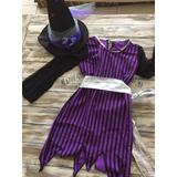 Disfraz Halloween Nena. Bruja Hechicera Malvada Talle 6 8 10 38162e20da4