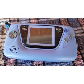Sega Game Gear - Console Azul Japonês - Leia!!!