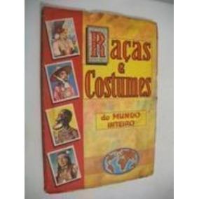 Álbum Raças E Costumes Do Mundo Inteiro Casa Editôra Vecchi