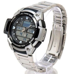 33c7838d023 Relógio Casio Outgear Sgw 400 Hd Altimetro Barometro Aço Pt ...