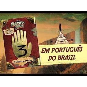 Livro - Gravity Falls Diário Perdido 3 Original - Capa Dura