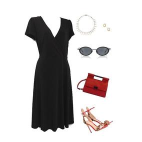 Merona, Vestido Negro, Todo Un Basico!