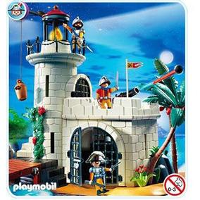 Playmobil Piratas 4294 Fortaleza Farol Dos Espanhóis