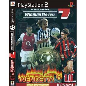 bb3495a1f2 Winning Eleven 7 Para Playstation 2 - Games no Mercado Livre Brasil