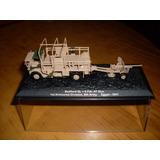 Lote De Camion Militar Con Artilleria Britanico A Escala