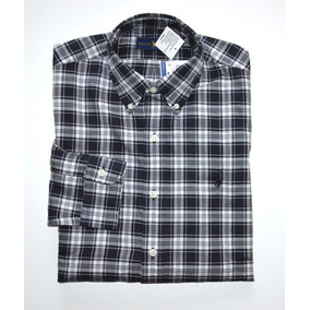Camisa Social Polo Ralph Lauren Tamanho G   L Classic Fit 5126ea2fcd1