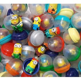 Minions/vending Machine Pct C/100 Capsulas Ideal P/festas