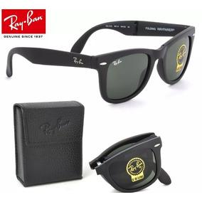 Oculos De Sol Ray Ban Wayfarer Dobravel Folding Rb4105 54mm 8d6b7fa534
