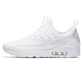 zapatillas nike air max blancas de hombre