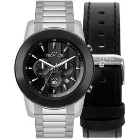 bd63536439c4e Relógio Smartwatch Technos Connect Plus M1ac 5p Prata Novo