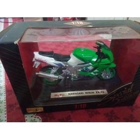 Miniatura Moto Kawasaki Ninja Zx9r