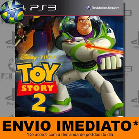Jogo Ps3 Disney Pixar Toy Story 2 Psn Play 3 Mídia Digital