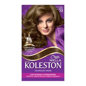Coloração Creme Koleston Kit Louro Mate Médio 72