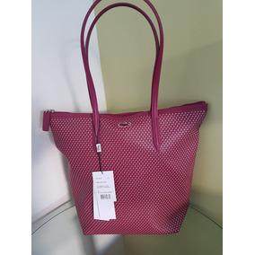 Bolsa Lacoste Vertical Tote Bag Nf1393 Original 229b0f0b94