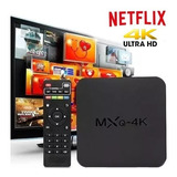 Convertidor Smart Tv 4k Android Tv Box 7.1 + Netflix + Envio