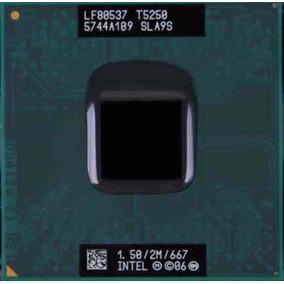 Processador Intel Core 2 Duo T5250 Sla9s Cpu 667 Mhz 1.5 Ghz