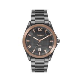 8000aadf312 Relógio Aco Preto - Relógio Euro Feminino em Paraná no Mercado Livre ...