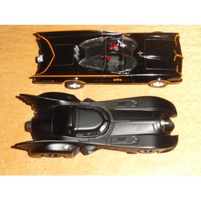 Oferta 2 Carros Batman Batmovel Jada 1:32 Metal Fricção Dc