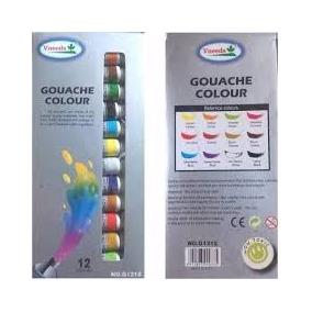 Acuarela De 12 Ml 12 Colores Guache Colors
