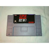 Cartucho / Cartridge Super Nintendo Snes 102 ( 2+ 100 ) En 1