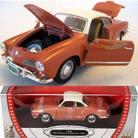 Volkswagen Karmann-ghia 1966 1/18 Yatming Cor Corale Branco