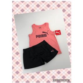 Conjunto Com Shorts E Regata - Puma