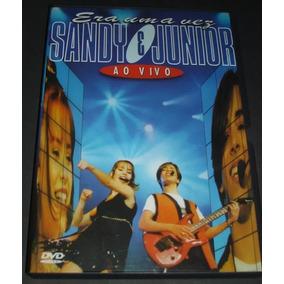 Dvd - Sandy E Júnior Ao Vivo - Era Uma Vez Original Seminovo