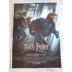 Harry Potter E I Doni Della Morte 140x100cm Cartaz Cinema