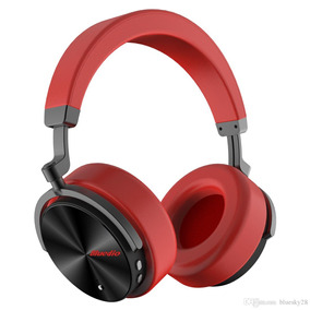 Bluedio T5 Wireless Bluetooth Headphone With Microphone Red