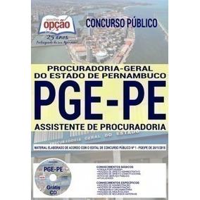 Apostila - Assistente De Procuradoria -concurso Pge Pe 2019