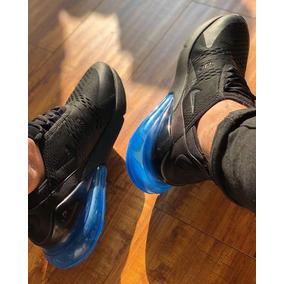 Tenis Nike Air Max 270 Black/blue 2018