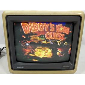 Antiga Tv Semp Toshiba Mod 1021 Game Retro 10 Polegadas