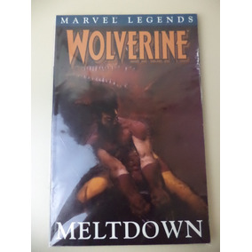 Importado Hq Wolverine Meltdown Em Inglês